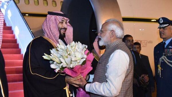 Hindistan Başbakanı Narendra Modi - Suudi Arabistan Veliaht Prensi Muhammed bin Selman - Sputnik Türkiye