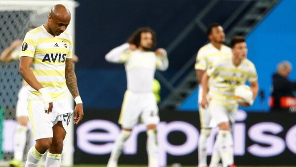 Fenerbahçe, UEFA Avrupa Ligi son 32 turu rövanş karşılaşmasında Rusya'nın Zenit takımına 3-1 yenilerek Avrupa kupalarına veda etti. - Sputnik Türkiye