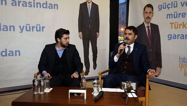 Çevre ve Şehircilik Bakanı Murat Kurum (sağda) - Sputnik Türkiye