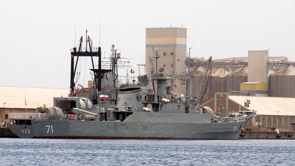 Иранский фрегат Алванд - Sputnik Türkiye