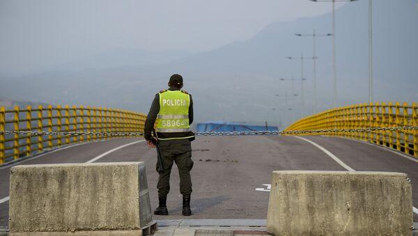 Venezüella - Kolombiya sınırı - Sputnik Türkiye