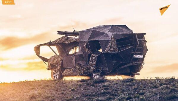 Rus araba tamircisinden 'kıyamet sonrası' tarzı canavar araçlar - Sputnik Türkiye