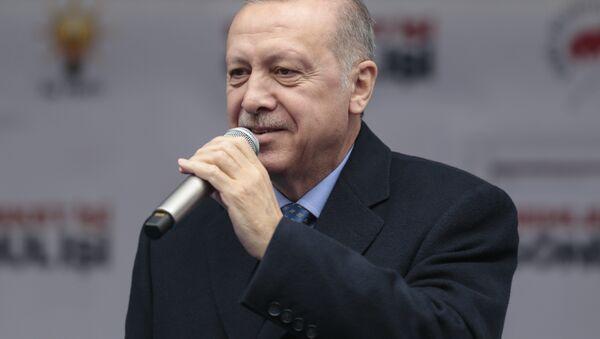 Cumhurbaşkanı Recep Tayyip Erdoğan - Sputnik Türkiye