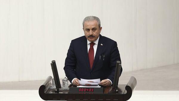 AK Parti Tekirdağ Milletvekili Mustafa Şentop - Sputnik Türkiye