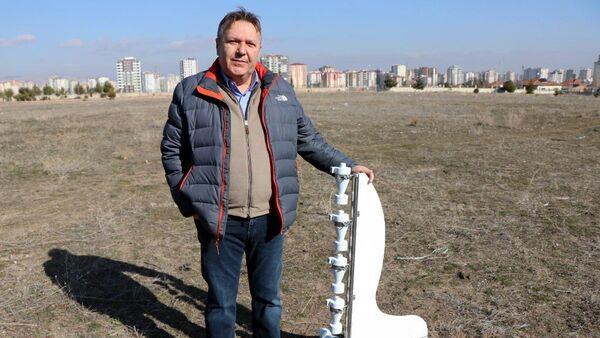 Erciyes Üniversitesi Ziraat Fakültesi Toprak Bilimi ve Bitki Besleme Bölümü Öğretim Üyesi Prof. Dr. Mustafa Başaran - Sputnik Türkiye
