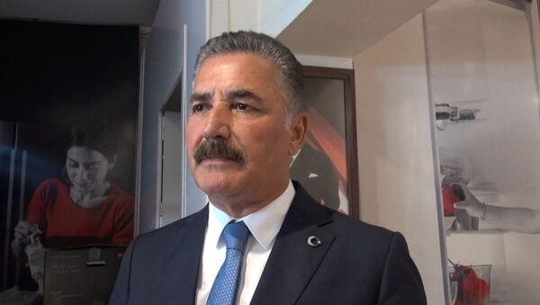 Cumhur İttifakı'nın MHP'li Mersin Büyükşehir Belediye Başkan adayı Hamit Tuna - Sputnik Türkiye