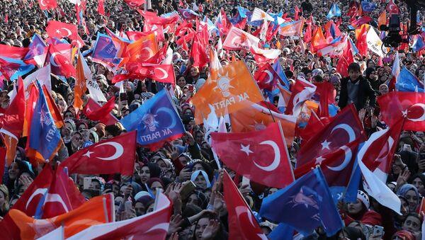 AK Parti, miting, seçmen - Sputnik Türkiye