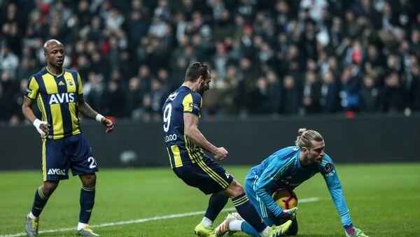 Spor Toto Süper Lig'in 23. haftasındaki Beşiktaş-Fenerbahçe derbisi 3-3 berabere tamamlandı. - Sputnik Türkiye