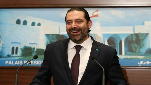 Saad el Hariri - Sputnik Türkiye