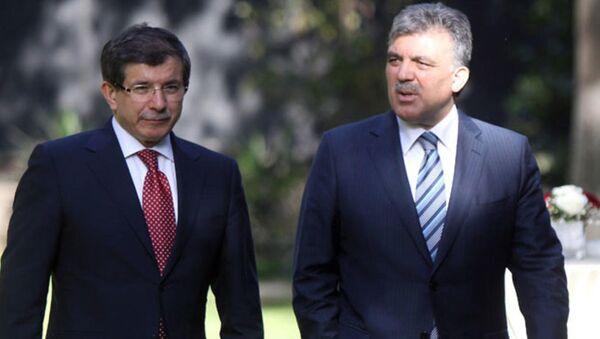 Ahmet Davutoğlu - Abdullah Gül - Sputnik Türkiye