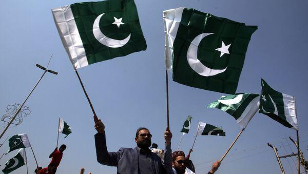 Pakistan bayrakları - Sputnik Türkiye