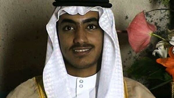 In this image from video released by the CIA, Hamza bin Laden is seen as an adult at his wedding - Sputnik Türkiye
