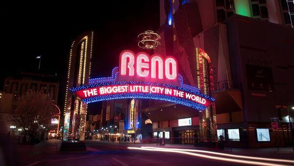 Dünyanın en büyük küçük şehri' ünvanlı kumar cenneti Reno - Sputnik Türkiye