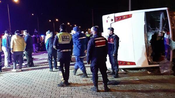 Antalyaspor deplasmanından dönen Ankaragücü taraftarı kaza yaptı - Sputnik Türkiye