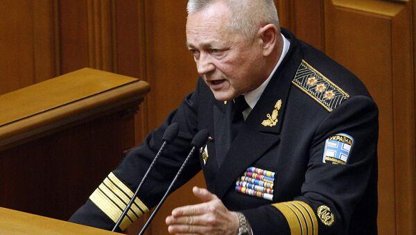 Eski Ukrayna Savunma Bakanı İgor Tenyuh - Sputnik Türkiye