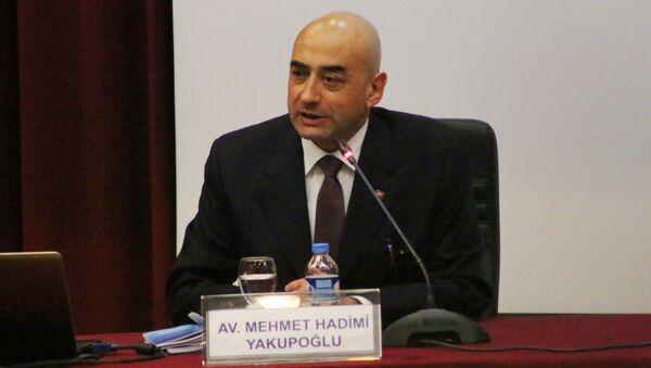 Mehmet Hadimi Yakupoğlu - Sputnik Türkiye