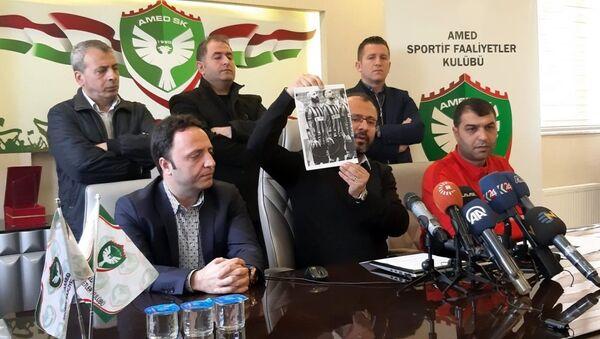 Amedspor Kulübü Başkanı Ali Karakaş - Sputnik Türkiye