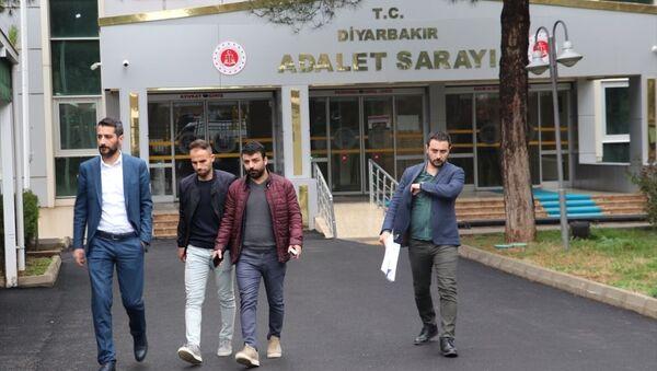 TFF 2. Lig Beyaz Grup'ta hafta sonu oynanan Amedspor-Sakaryaspor maçının ardından Sakaryasporlu 4 futbolcunun şikayeti üzerine hakkında soruşturma başlatılan rakip takımın futbolcusu Mansur Çalar - Sputnik Türkiye
