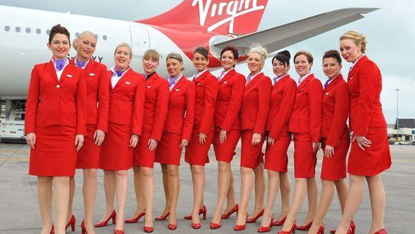Virgin Atlantic kabin çalışanları (hostesler) - Sputnik Türkiye