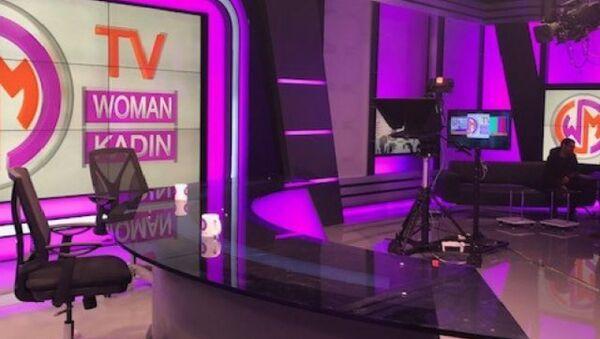 Türkiye'nin ilk kadın televizyonu Woman TV - Sputnik Türkiye