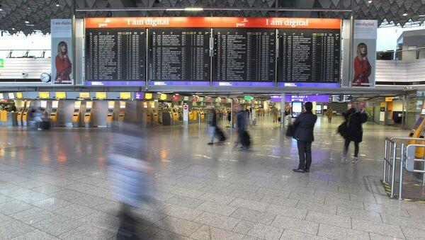 Almanya - havaalanı - Sputnik Türkiye