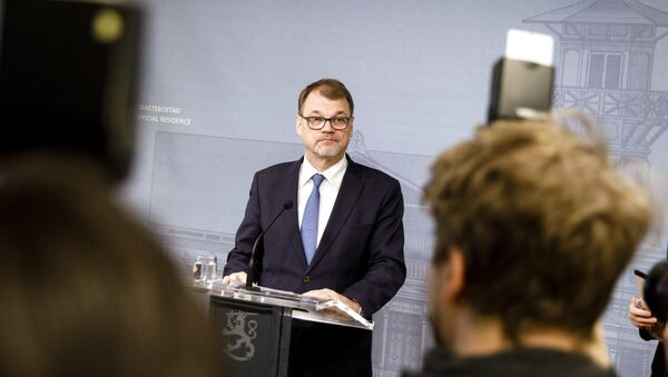 Finlandiya Başbakanı Juha Sipila - Sputnik Türkiye