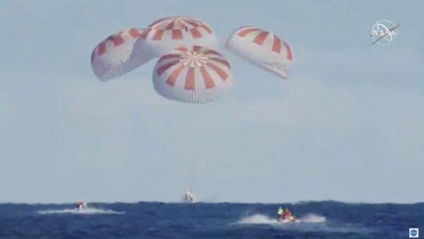 SpaceX Dragon dünyaya döndü - Sputnik Türkiye