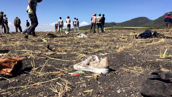 Etiyopya'da uçak kazası - Sputnik Türkiye
