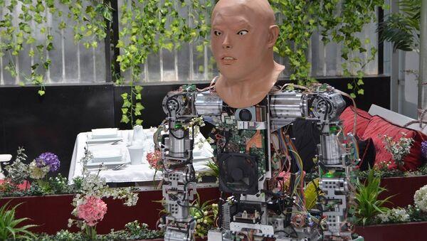 Konya'da üretilen insansı robota yüz eklendi - Sputnik Türkiye