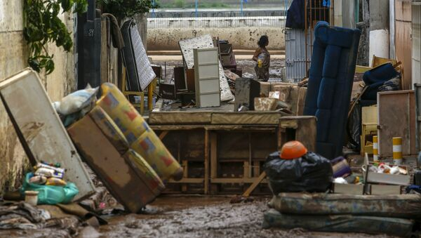 Brezilya'da aşırı yağışlar 7 can aldı - Sputnik Türkiye