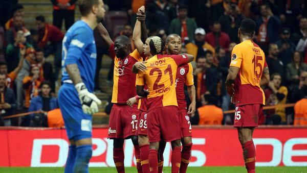 Galatasaray, sahasında farklı kazandı - Sputnik Türkiye