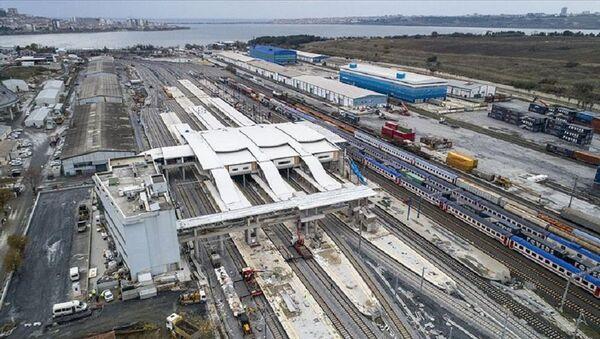 Gebze-Halkalı demir yolu hattı - Sputnik Türkiye