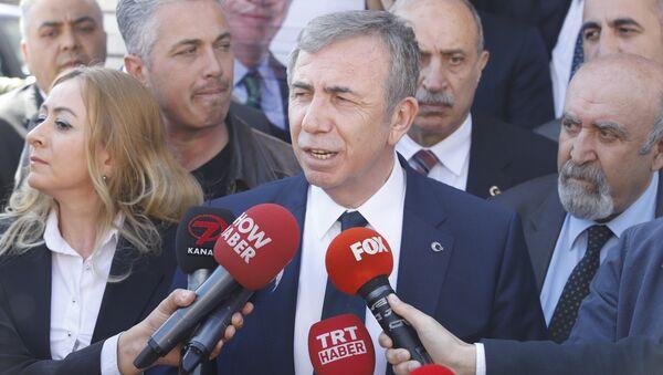 Mansur Yavaş - Sputnik Türkiye