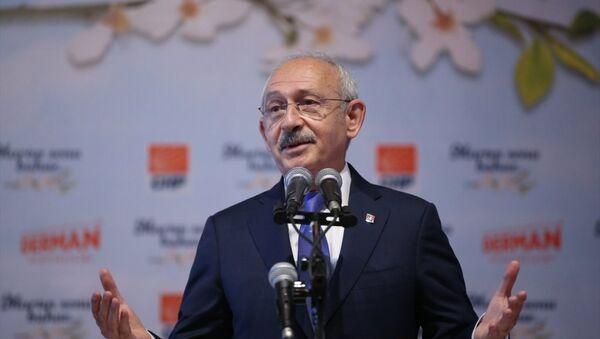 CHP Genel Bașkanı Kemal Kılıçdaroğlu - Sputnik Türkiye