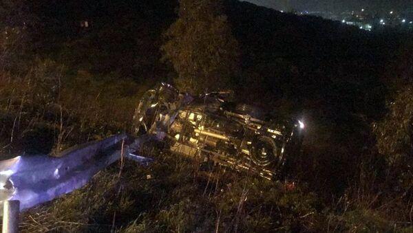 Demet Akbağ'ın eşi trafik kazasında ağır yaralandı - Sputnik Türkiye