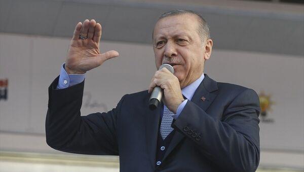 Recep Tayyip Erdoğan, Ankara, Yenimahalle mitingi - Sputnik Türkiye