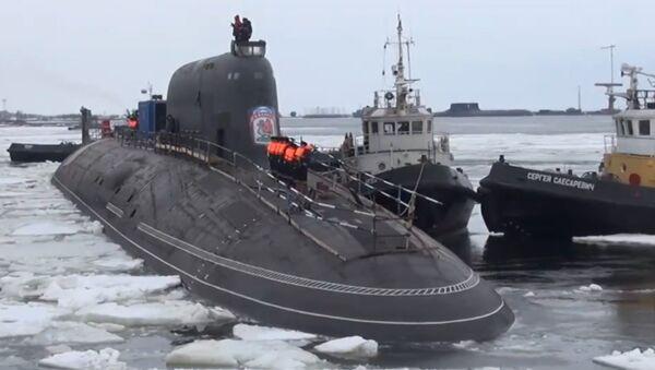 Yeni Rus nükleer denizaltılarının görüntüleri yayınlandı - Sputnik Türkiye