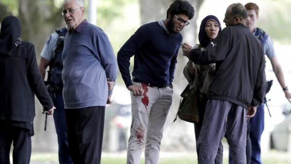 Görgü tanığı Yeni Zelanda'daki terör saldırısının ayrıntılarını anlattı - Sputnik Türkiye