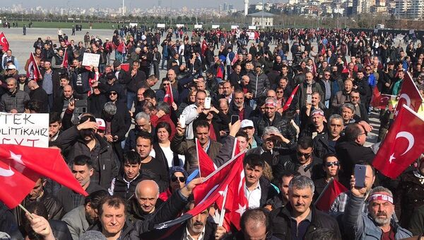 Maltepe'de EYT mitingi - Sputnik Türkiye