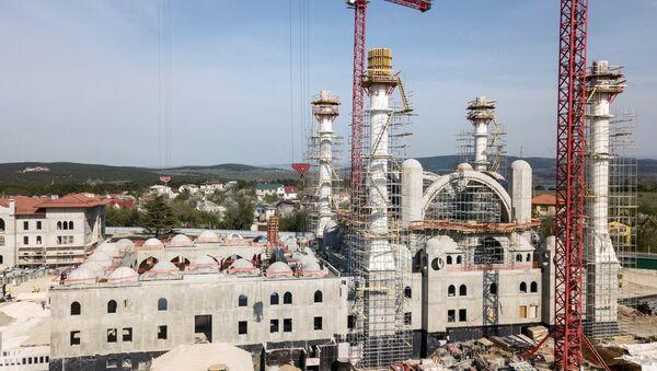 Строительство Соборной мечети в Симферополе - Sputnik Türkiye