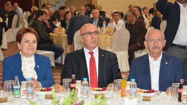 CHP Genel Başkanı Kılıçdaroğlu ile İYİ Parti Genel Başkanı Meral Akşener - Sputnik Türkiye