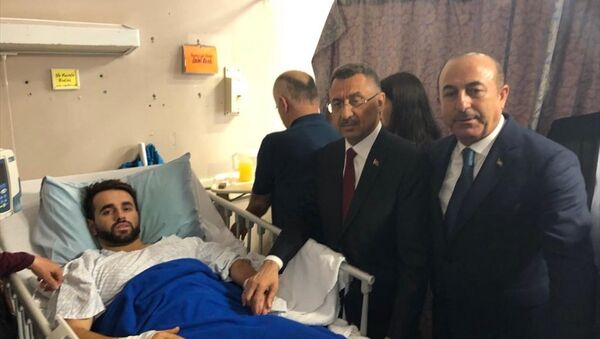 Cumhurbaşkanı Yardımcısı Fuat Oktay ile Dışişleri Bakanı Mevlüt Çavuşoğlu, Yeni Zelanda'da - Sputnik Türkiye