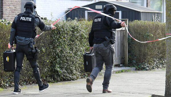 Hollanda Utrecht saldırı - Sputnik Türkiye