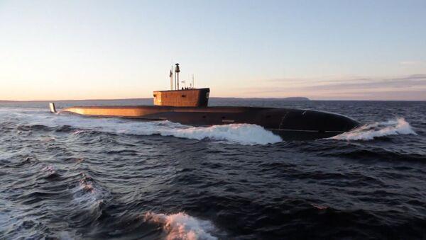Rusya Borey tipi stratejik füze denizaltısının test videosunu yayınladı - Sputnik Türkiye