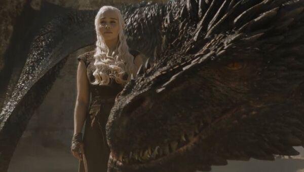 Game of Thrones koordinatörü, ejderha sahnelerinin nasıl çekildiğini anlattı - Sputnik Türkiye