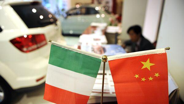 İtalya - Çin - Sputnik Türkiye