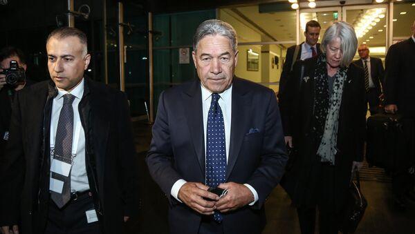 Yeni Zelanda Dışişleri Bakanı Winston Peters - Sputnik Türkiye
