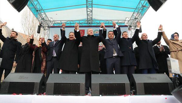 Cumhurbaşkanı Erdoğan- Ankara Gölbaşı açılış töreni - Sputnik Türkiye