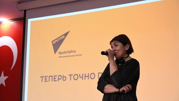 Rossiya Segodnya (Rusya Bugün) Uluslararası Haber Ajansı Genel Yayın Yönetmen Yardımcısı Natalya Loseva - Sputnik Türkiye
