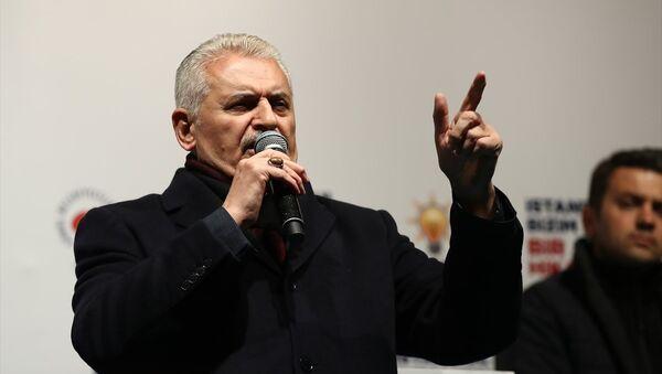 AK Parti'nin İstanbul Büyükşehir Belediye Başkan Adayı Binali Yıldırım - Sputnik Türkiye